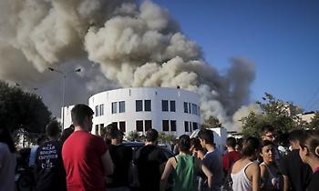 Φωτιά στο Πανεπιστήμιο Κρήτης: Έκτακτο βοήθημα 2.000 ευρώ στους φοιτητές που διέμεναν στην εστία