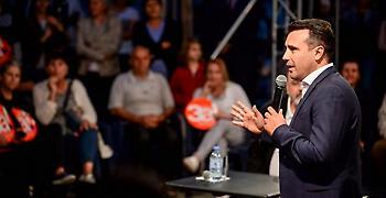 Ζάεφ: Ό,τι ευχηθήκαμε έγινε πραγματικότητα - Από εχθροί φίλοι μας οι Έλληνες