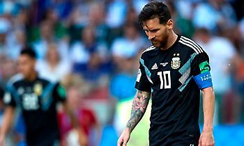 Ξανά χωρίς Μέσι η Αργεντινή