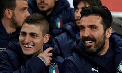 Μπουφόν για Βεράτι: «Είναι το μοναδικό πραγματικό ταλέντο του ιταλικού ποδοσφαίρου»