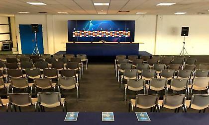 Η νέα αίθουσα Τύπου της ΑΕΚ για τα παιχνίδια του Champions League (pic)