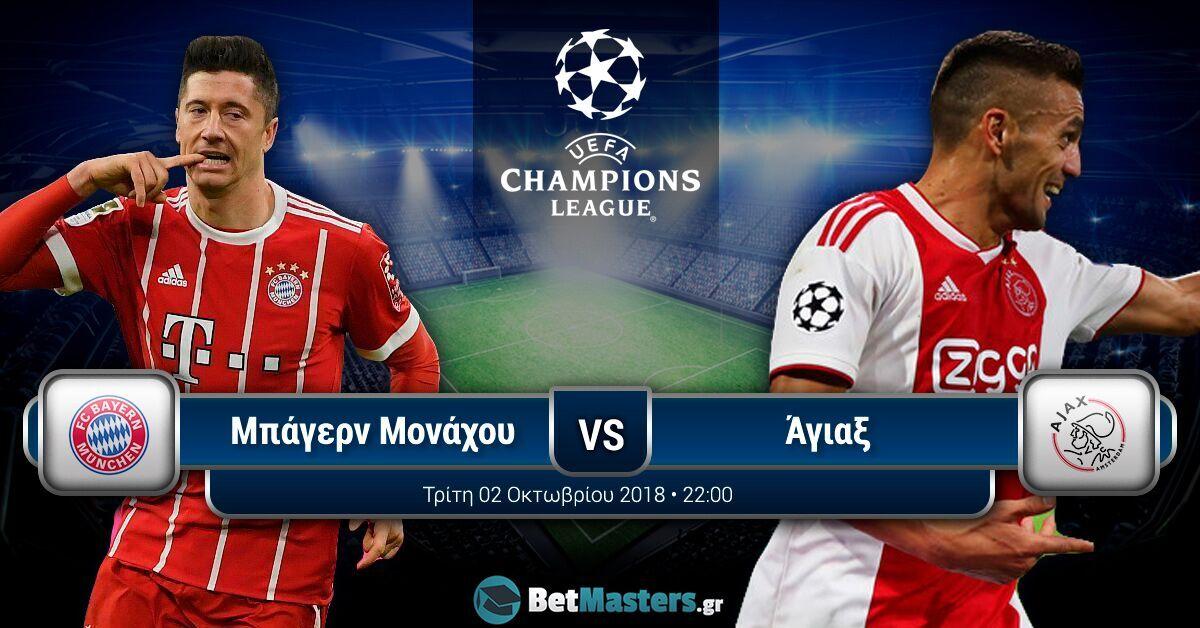 Champions League 2/10: Οι αποδόσεις σε όλα τα ματς της 2ης αγωνιστικής