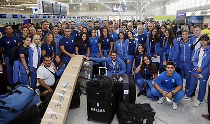Με 33 αθλητές η αποστολή για τους Ολυμπιακούς αγώνες νέων