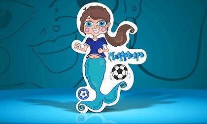 Τα κορίτσια παίζουν ποδόσφαιρο με την... Μπαλαδώρα