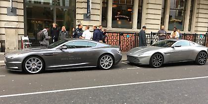 Aston Martin: Το αυτοκίνητο του Τζέιμς Μποντ στους δρόμους του Λονδίνου (pics&vid)