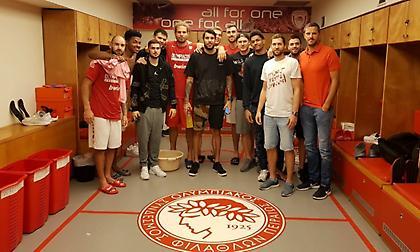 Επισκέφτηκε το ΣΕΦ η Ένωση παικτών της Ευρωλίγκας (pic)