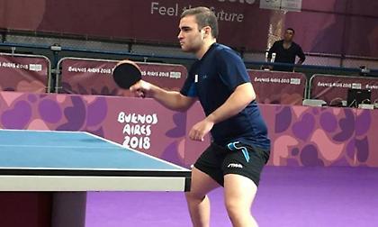Απέναντι στον  Μέισνερ αρχίζει ο Σγουρόπουλος το Ολυμπιακό τουρνουά πινγκ πονγκ
