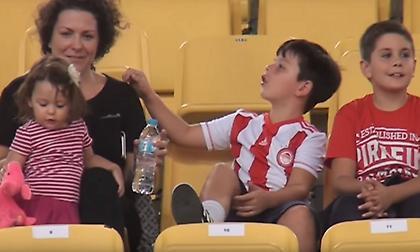 Η παρακάμερα της νίκης του Ολυμπιακού επί του Χολαργού (video)