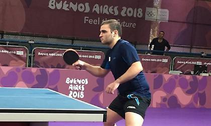 Δύσκολη νίκη ο Σγουρόπουλος στην πρεμιέρα του στους Ολυμπιακούς Αγώνες νέων