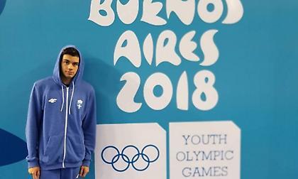 Ασημένιος ο Θώμογλου στους Ολυμπιακούς Αγώνες νέων!