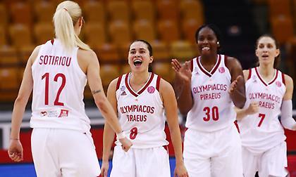 Σούπερ πρόκριση του Ολυμπιακού στην Ευρωλίγκα γυναικών!