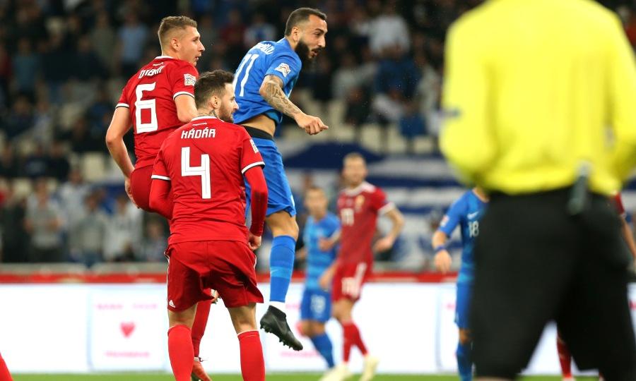 LIVE: Ελλάδα-Ουγγαρία 1-0