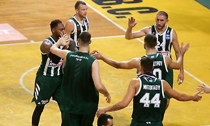 «Σίφουνας» ο Παναθηναϊκός στο Αλεξάνδρειο και 2/2 στην Basket League!