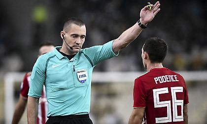 Κριστόφερσεν: «Υπάρχει πίεση στους διαιτητές στην Ελλάδα»