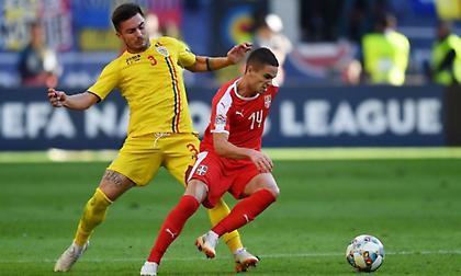 Άντεξε στο «μονότερμα» και πήρε το βαθμό με 10 παίκτες η Ρουμανία