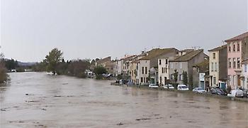 Τουλάχιστον έξι νεκροί από τις πλημμύρες στη νότια Γαλλία