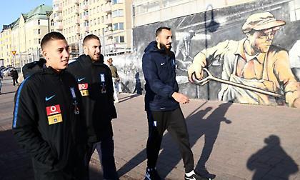 Η βόλτα της Εθνικής στο Τάμπερε (pics)