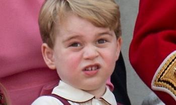 Πρίγκιπας Τζόρτζ: Φεύγει χοροπηδώντας από τον γάμο