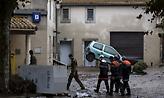 Γαλλία: Tουλάχιστον 10 νεκροί και 1 αγνοούμενος από τις πλημμύρες στην Οντ