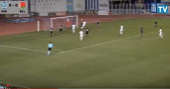 «Κάρφωσε» τη Λευκορωσία ο Χατζηγιοβάνης - Δείτε το γκολ (video)