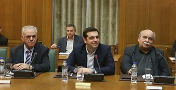 Συνεδριάζει το υπουργικό συμβούλιο υπό τον Τσίπρα