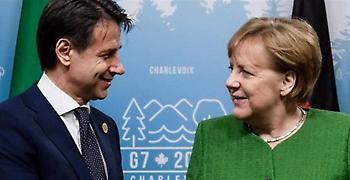 Μέρκελ σε Κόντε: Χτίσε εμπιστοσύνη με τους Ευρωπαίους για τον προϋπολογισμό