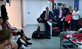 Η εξαιρετική ομιλία του Μπλατ στα αποδυτήρια μετά το διπλό στη Βιτόρια (video)