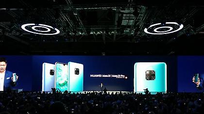 H Huawei με το Mate 20 Pro «ταράζει» την παγκόσμια αγορά