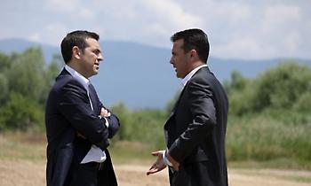 Ζάεφ: Ο Τσίπρας με διαβεβαίωσε για την αφοσίωσή του στη Συμφωνία των Πρεσπών