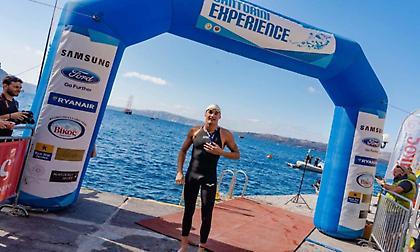 Ντ. Γιοβάνοβιτς στο sportfm.gr: «Πολύ όμορφο το συναίσθημα να κολυμπάς στο Santorini Experience»