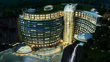 Το πρώτο ξενοδοχείο του κόσμου...σε λατομείο 88 μέτρα κάτω από τη γη (pics)