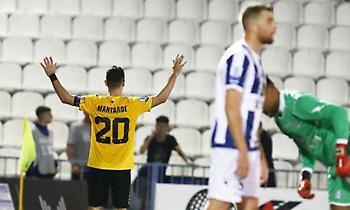 Το γκολ του Μάνταλου στη Ριζούπολη για το 1-0 της ΑΕΚ (video)