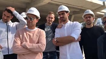 Η ανυπομονησία των παικτών της ΑΕΚ να μπουν στη «Αγια-Σοφιά»