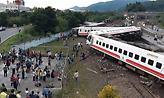 Τουλάχιστον 18 νεκροί από εκτροχιασμό τρένου στην Ταϊβάν