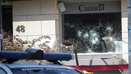 Ο Ρουβίκωνας «ξαναχτύπησε» - Γιατί διάλεξε την πρεσβεία του Καναδά