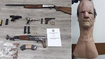 Ζεφύρι: Συνελήφθη συμμορία που λήστευε με καλάσνικοφ και μάσκες σιλικόνης