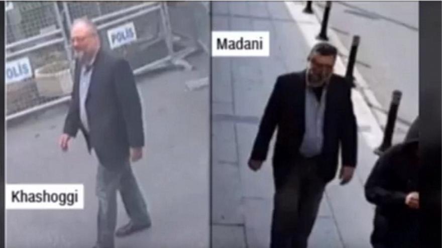 Βίντεο-σοκ: Σαουδάραβας φορούσε τα ρούχα του Κασόγκι λίγες ώρες μετά τον θάνατο του δημοσιογράφου