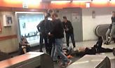 Συγκλονιστικό ατύχημα στο μετρό της Ρώμης με δεκάδες τραυματίες οπαδούς της ΤΣΣΚΑ (video)