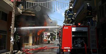 Φωτιά από ηλεκτρική κουβέρτα σε πολυκατοικία στο Μαρούσι