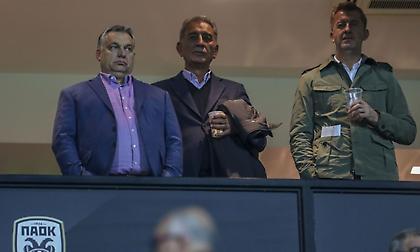 Στην  Τούμπα ο πρωθυπουργός της Ουγγαρίας (pics)