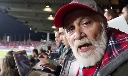 Ο Μπάμπης Χριστόγλου σχολιάζει μέσα από το γήπεδο τη νίκη του Ολυμπιακού στο Λουξεμβούργο (video)