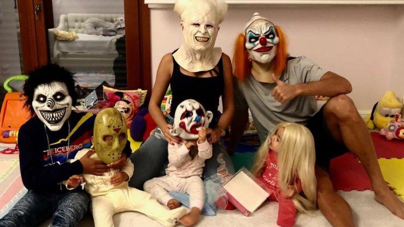 Σε… mood Halloween η οικογένεια του Κριστιάνο Ρονάλντο (pic)