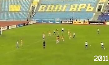 Ίδιο γκολ, απέναντι στην ίδια ομάδα, στο ίδιο γήπεδο, στο ίδιο λεπτό (video)