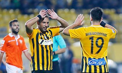 Διαμαντόπουλος: «Περίμενα την ευκαιρία μου. Μπορούμε ακόμη και να πάρουμε το Κύπελλο»