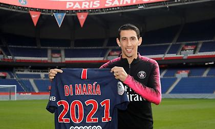 Ντι Μαρία μέχρι το 2021 στην Παρί! (pic)