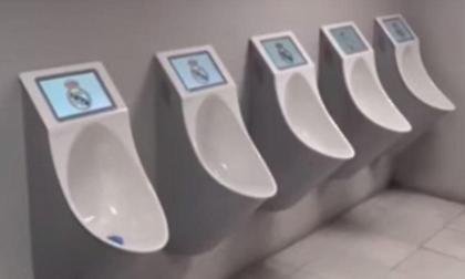 Τηλεοράσεις στις τουαλέτες του «Μπερναμπέου»!