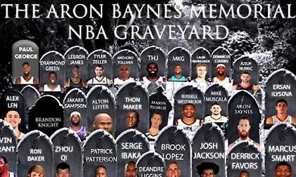 Στο… νεκροταφείο του ΝΒΑ «Aron Baynes» μπήκε ο Κώστας Κουφός! (photo/video)