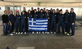 Αναχώρησε η Eθνική ομάδα για το Ευρωπαϊκό Πρωτάθλημα U21 της Βαρσοβίας