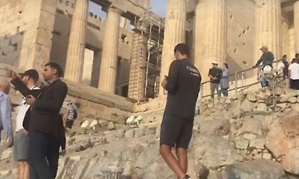 Πήγε Ακρόπολη η αποστολή της Ντουντελάνζ (video)