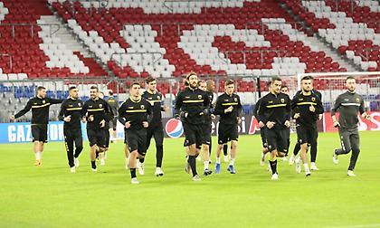 Τα αποδυτήρια της ΑΕΚ στην «Allianz Arena» (pics)
